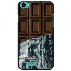 coque noire pour wiko lenny impression motif tablette de chocolat. Black Bedroom Furniture Sets. Home Design Ideas