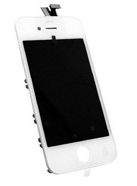 vitre face avant et surface tactile apple iphone 4 blanc kabiloo. Black Bedroom Furniture Sets. Home Design Ideas