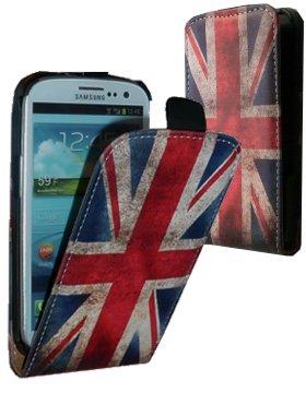 Etui rabat drapeau anglais Samsung Galaxy S4 i9500