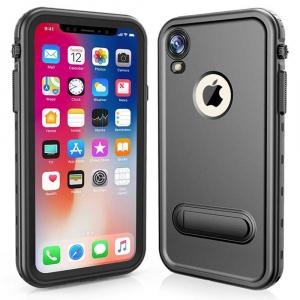 coque iphone xr antichoc noir