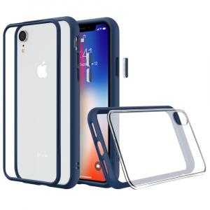 coque iphone xr rhinoshield bleu
