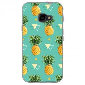 Coque souple pour Samsung Galaxy XCover 4 avec impression Motifs ananas