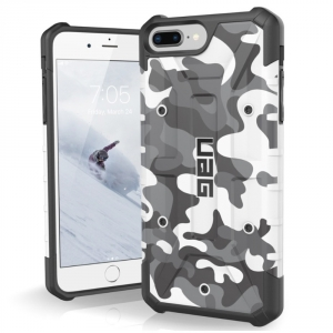 coque iphone 7 camouflage blanc