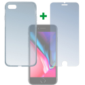 4SM-TPUGLASSIP8 - Pack 2en1 Coque + Vitre protection écran pour iPhone 7/8 de 4Smarts