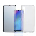 4SM-TPUGLASSP30 - Pack 2en1 Coque + Vitre protection écran pour Huawei P30 de 4Smarts