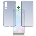 4SM-TPUGLASSP30LITE - Pack 2en1 Coque + Vitre protection écran pour Huawei P30 Lite de 4Smarts