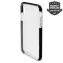4SMARTS-AIRYIPXNOIR - Coque antichoc iPhone Xs Airy-Shield noire et transparente de 4Smarts
