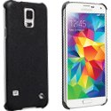 89959-S5 - 89959 Coque Malmo-Cover Krusell noire texturée pour Samsung Galaxy S5