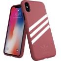 ADIDAS-3BANDESIPXRROSE - Coque iPhone XR Adidas Originals 3 bandes rose