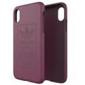 ADIDAS-LOGOIPXBORDEAUX - Coque iPhone X Adidas Originals antichoc Logo bordeaux