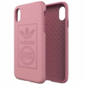 ADIDAS-LOGOIPXROSE - Coque iPhone X Adidas Originals antichoc Logo rose