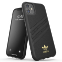 ADIDAS-MOULDIP11PREMIUM - Coque iPhone 11 Adidas Originals Moulded Premium noir logo doré