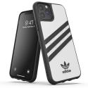 ADIDAS-MOULDIP11PROBLANC - Coque iPhone 11 Pro Adidas Originals Moulded blanche bandes noires