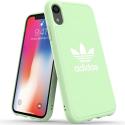 ADIDAS-MOULDIPXRAMANDE - Coque iPhone XR Adidas Originals Moulded vert amande