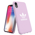 ADIDAS-MOULDIPXRROSE - Coque iPhone XR Adidas Originals Moulded rose