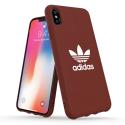 ADIDAS-MOULDIPXSBORD - Coque iPhone X/Xs Adidas Originals Moulded bordeaux