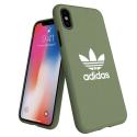 ADIDAS-MOULDIPXSVERT - Coque iPhone Xs Adidas Originals Moulded vert