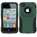 AG-IPH4-BG - Coque Trident AEGIS Series verte pour iPhone 4