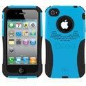 AG-IPH4-BL - Coque Trident AEGIS Series bleue pour iPhone 4