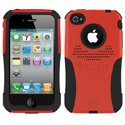AG-IPH4-RD - Coque Trident AEGIS Series rouge pour iPhone 4