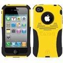 AG-IPH4-YL - Coque Trident AEGIS Series jaune pour iPhone 4