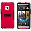 AG-ONE-RD - Coque Trident AEGIS Series rouge pour HTC One