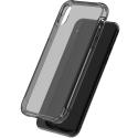 AIRBAG-IPXFUME - Coque Airbag iPhone X coque fumée souple avec coins renforcés