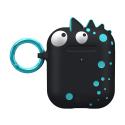 AIRPOD-CM039610 - Etui pour Airpod CreaturePods Spike Harmless noir de Case-Mate