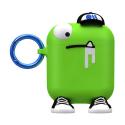 AIRPOD-CM039612 - Etui pour Airpod CreaturePods Cool-Guy vert de Case-Mate