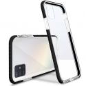 AIRYSHIELD-A51NOIR - Coque antichoc Galaxy A51 Airy-Shield noire et transparente