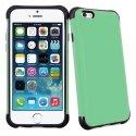 ANTICHOCIP647VERT - Coque hybride bi-matières anti-choc pour iPhone 6 coloris vert
