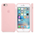 APPLE-MLCU2FE - Coque officielle Apple iPhone 6s silicone rose