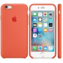 APPLE-MM642ZM - Coque officielle Apple iPhone 6s silicone abricot