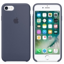 APPLE-MMKF2FE - Coque officielle Apple iPhone 7/8 silicone soft bleu nuit