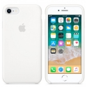 APPLE-MMWF2FE - Coque officielle Apple iPhone 7/8 silicone soft blanc