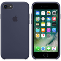 APPLE-MMWK2ZMA - Coque officielle Apple iPhone 7/8 silicone soft bleu