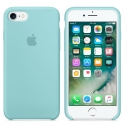 APPLE-MMX02FE - Coque officielle Apple iPhone 7/8 silicone soft bleu turquoise