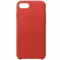 APPLE-MMY62ZMA - Coque officielle Apple iPhone 7/8 en cuir rouge