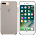 APPLE-MQ0P2ZM - Coque officielle Apple iPhone 7/8+ silicone taupe