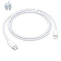 APPLE-MQGJ2ZMA - Câble origine APPLE iPhone / iPad USB-C vers Lightning 1 mètre / Charge rapide