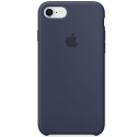 APPLE-MQGM2ZM - Coque officielle Apple iPhone 7/8 silicone soft Midnight blue