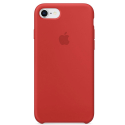 APPLE-MQGP2FE - Coque officielle Apple iPhone 7/8 silicone soft rouge