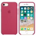 APPLE-MQGT2FE - Coque officielle Apple iPhone 7/8 silicone soft framboise