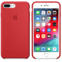 APPLE-MQH42FE - Coque officielle Apple iPhone 7/8+ silicone rouge
