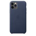 APPLEIP11-MWYG2ZM - Coque officielle Apple iPhone 11 en cuir coloris bleu