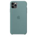 APPLEIP11PMAX-MY1G2ZM - Coque officielle Apple iPhone 11 Pro Max en silicone liquide coloris vert cactus
