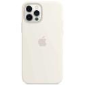 APPLEIP12-MHLX3FEA - Coque officielle Apple iPhone 12 / 12 Pro en silicone liquide coloris blanc