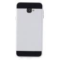 ARMOR-J4PLUSBLANC - Coque renforcée Galaxy J4+ hybride antichoc coloris blanc