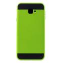 ARMOR-J4PLUSVERT - Coque renforcée Galaxy J4+ hybride antichoc coloris vert