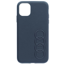 AUDI-COVI11PROLOGO - Coque officielle AUDI iPhone 11 Pro avec logo en relief